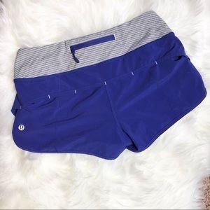 """Lululemon Athletica Speed Up Shorts 2.5"""" Sz. 4"""